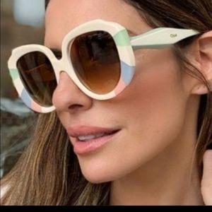 Chloe pastel rainbow sunglasses